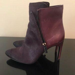 Vince Camuto purple booties